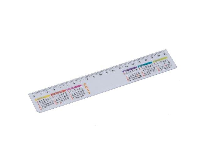 Régua Calendário Plástica XB13040