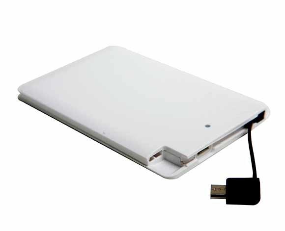 Power Bank Cartão 2.500mAh LTE108 (MB11974.0820)
