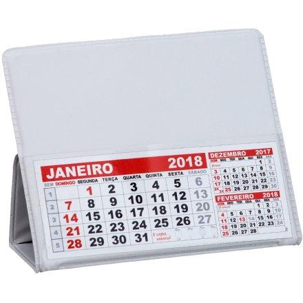Calendário de Mesa Pequeno em PVC LG42 Promocional (MB1086.1019)