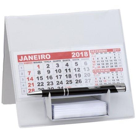 Calendário de Mesa em PVC com Bloco (MB1342.0618)