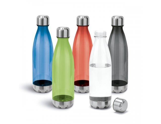 Squeeze Plástico Detalhes em Inox 700ml SP94687 (MB11129.0121)