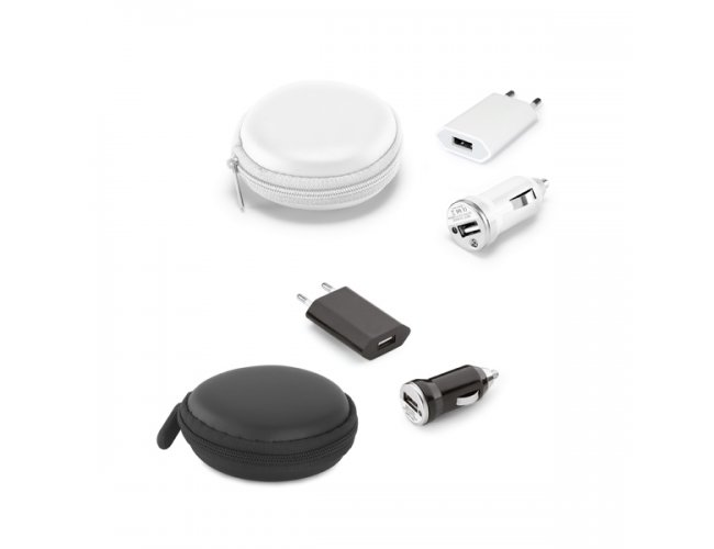 Kit de Carregadores USB SP97312 (MB11254.0219)