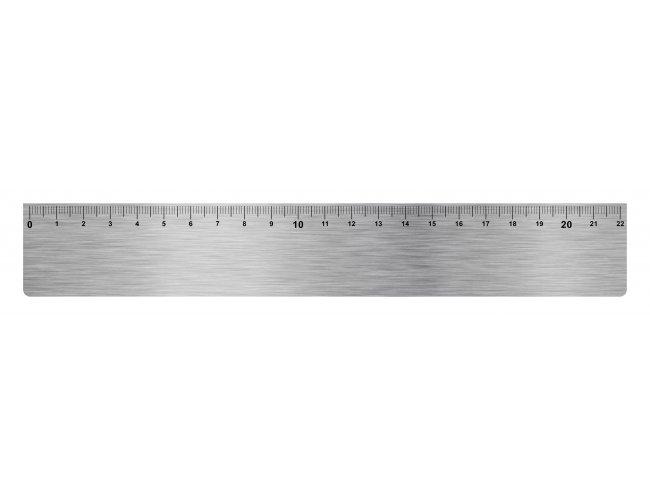 Régua de Alumínio 22cm (MB1165.0318)