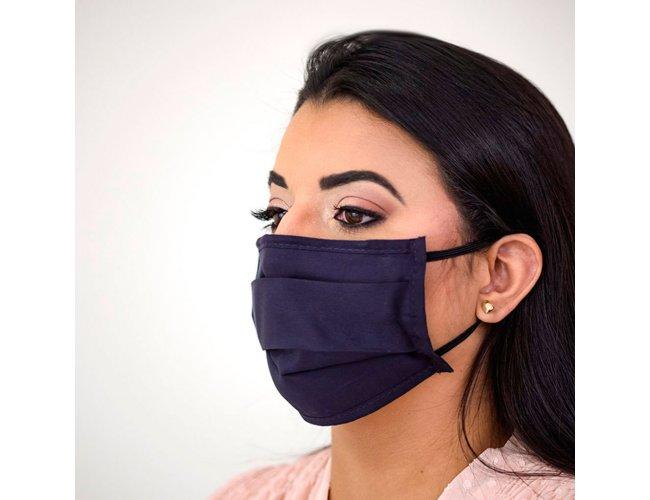 Máscara Sanfonada com Proteção em Íons de Prata PMG02 (MB1454.0421)