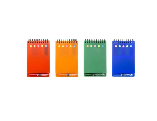 Bloco de Anotações com Caneta e Post-it 15,4x9cm XB12559 (MB1430.0519)