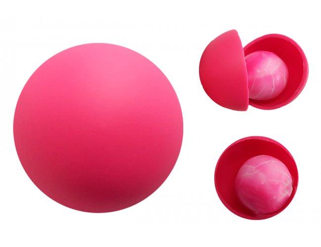 Bolinha Anti Stress com Caroço (Outubro Rosa) (MB1375.0921)