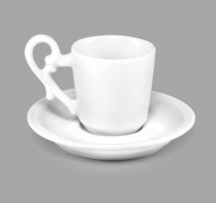 Xícara de Café c/ Pires 70ml BV07