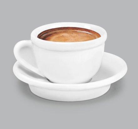 Xícara de Café c/ Pires 85ml BV08