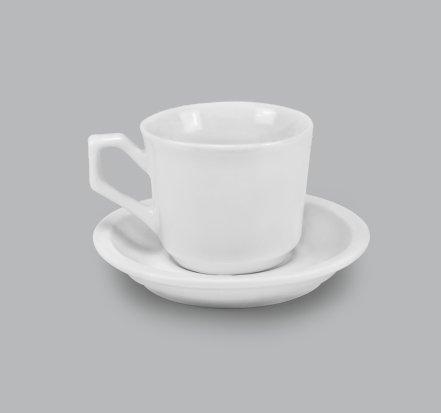 Xícara de Chá c/ Pires 130ml BV18 (MB1927.0318)