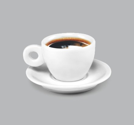 Xícara de Café c/ Pires 50ml BV297 (MB1809.0218)