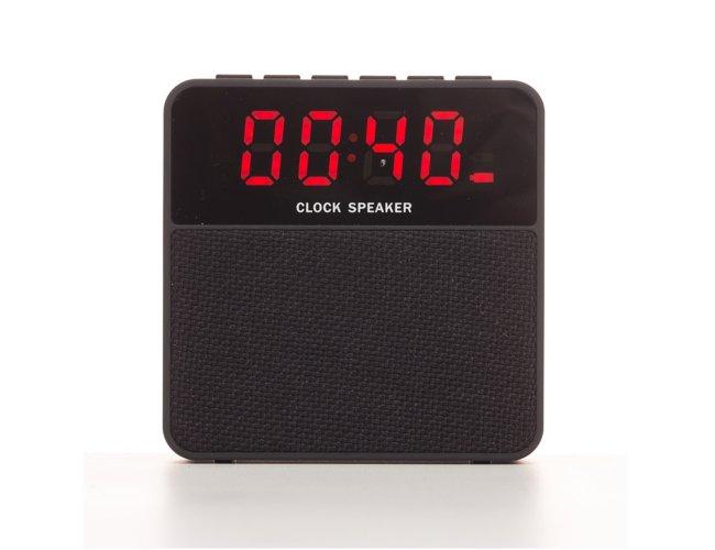 Caixa de Som Bluetooth Relógio Digital XB2071 (MB13638.0220)