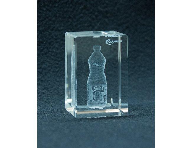 Cubo de Cristal 6x4x4cm (MB18000)