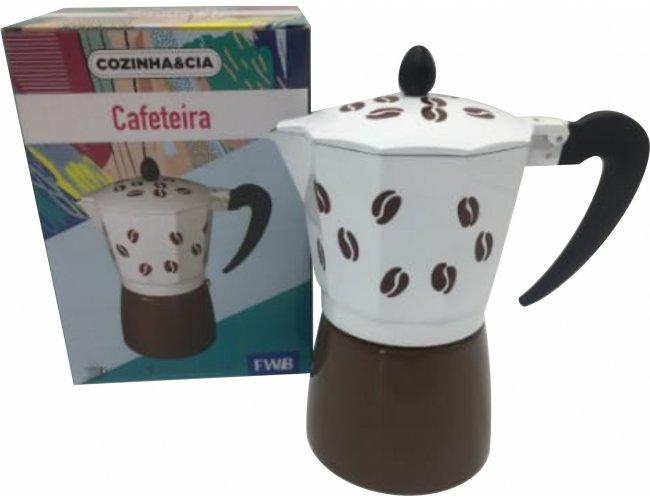 Cafeteira de Alumínio com Caixa EQ94885