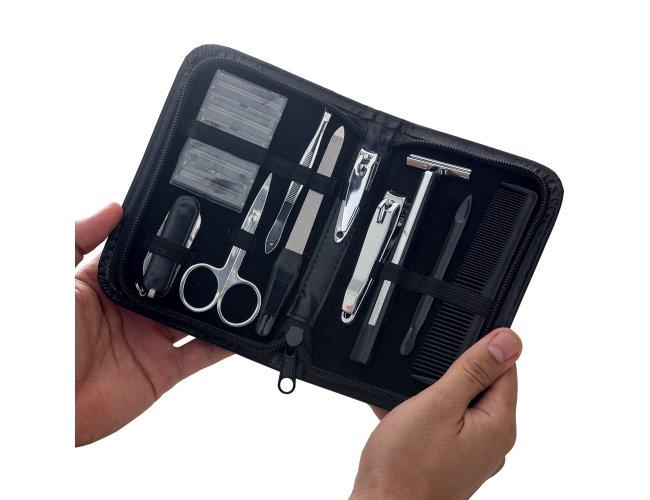 Kit Manicure Masculino 10 Peças XB12221 (MB11950)