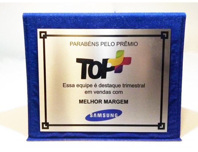 Placa de Homenagem 10x7cm PS242
