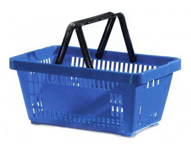 Cesta Plástica de Mercado com Alça Plástica PPS600AP
