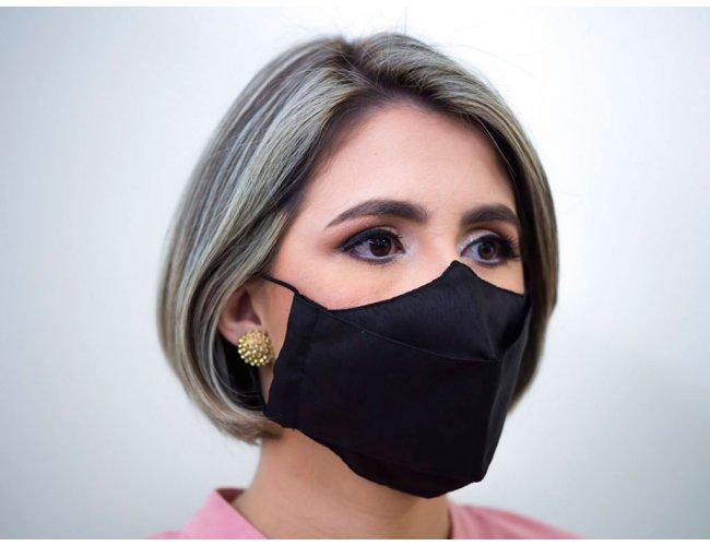 Máscara 3D com Proteção em Íons de Prata PMG06 (MB1700.0321)