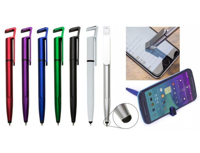 Caneta 4 em 1 com Touch Screen e Porta Celular XB00708 (MB1107.1120)