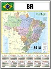 Folhinha Mapa BR (MB1164.1118)
