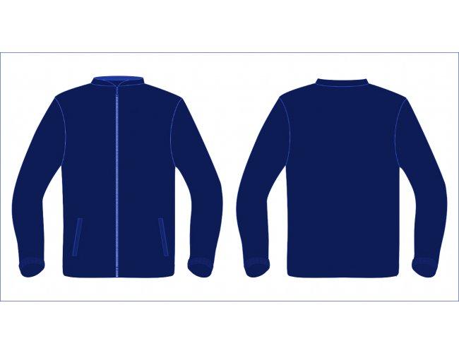 Blusa de Moletom Com Bolso e Ziper MC601290Z (MB16900)
